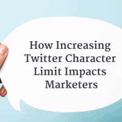 How Increasing Twitter Character Limit Impacts Marketers