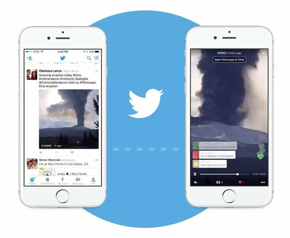 Periscope In Twitter Timeline