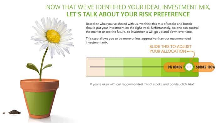 blooom Risk Preference